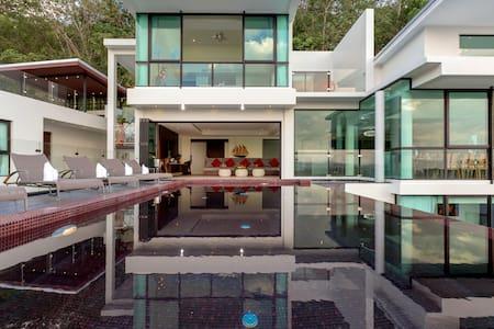 Stunning seaview pool villa near beach
