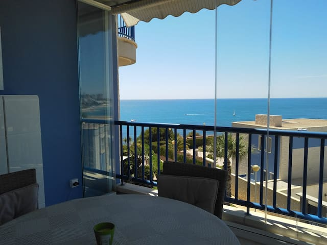 Lujo, apartamento con impresionantes vistas al mar