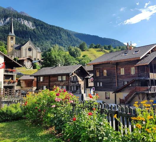 Neue Ferienwohnung im Wanderparadies Aletscharena