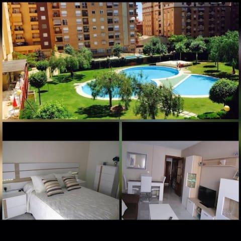 Piso acogedor en Jaén en zona bulevar - Jaén