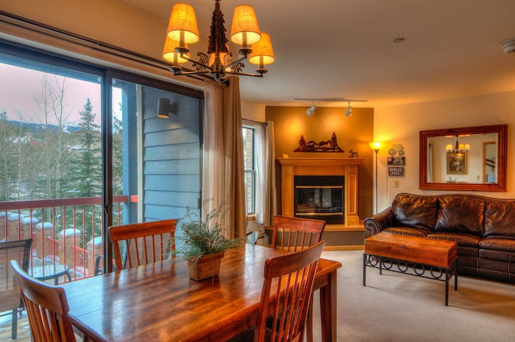 LOCATION!  BEST OF BRECK JUST OUTSIDE YOUR DOOR!
