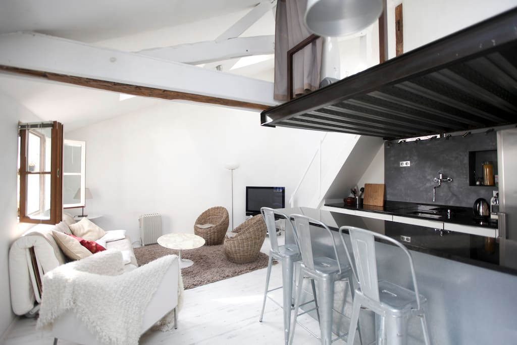 Appartement d 39 architecte charme appartements louer for Architecte appartement paris