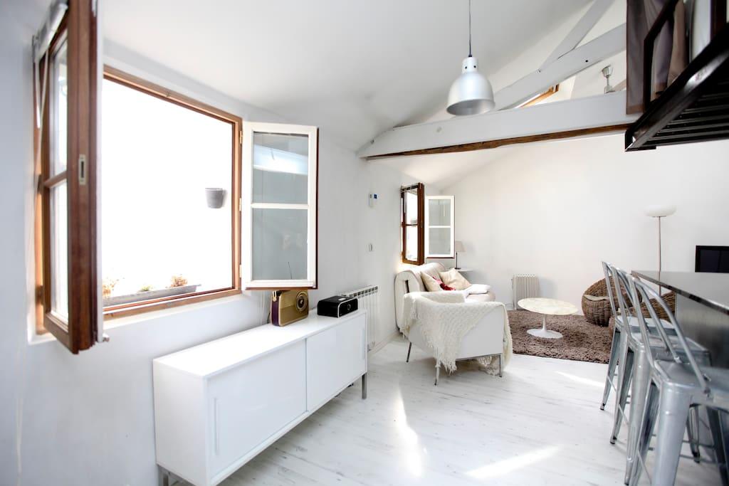Appartement d 39 architecte charme appartements louer for Appartement architecte paris