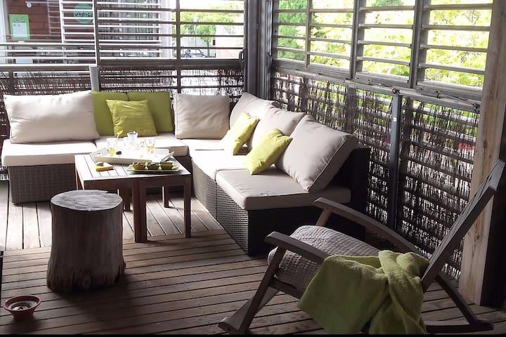Appartement  spacieux et lumineux - Biscarrosse - Apartament