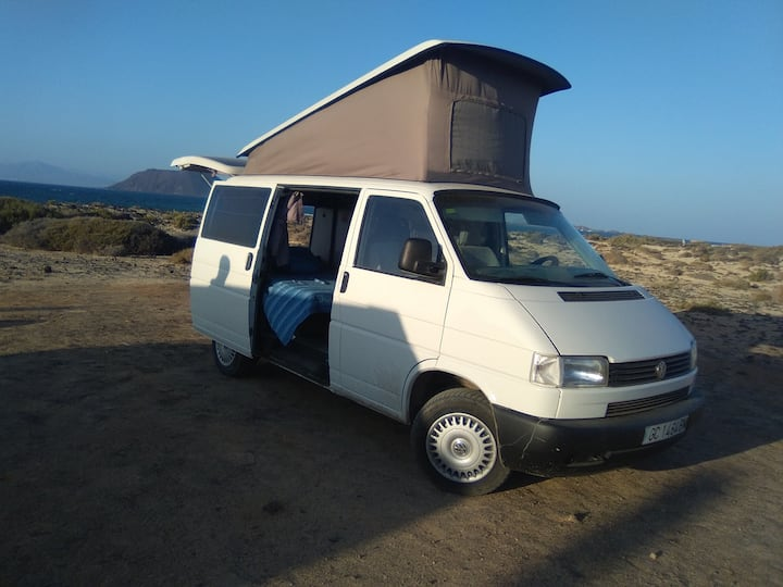 Vw t4 california Fuerteventura Holidayscampervans.
