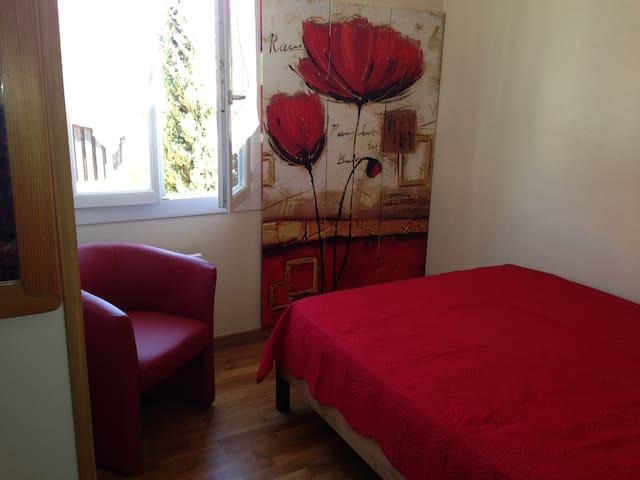 Antibes- room in villa, garden, sea - Antibes - Villa