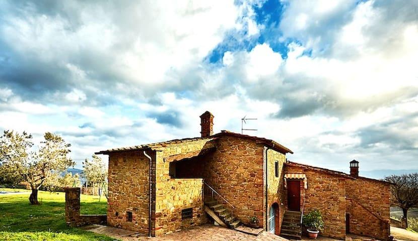 Appartamento in Casale rustico, immerso nel verde - Monte San Savino - Lägenhet