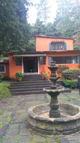 Preciosa Mansión 5000 m2 near StaFe - San Lorenzo Acopilco - Dům