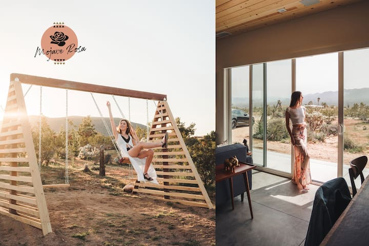 Mojave Rosa // Hot Tub + Cowboy Tub + Swingset