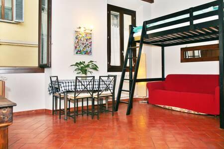 STUDIO P.zza del CARMINE1 S.Spirito - Florence - Apartment