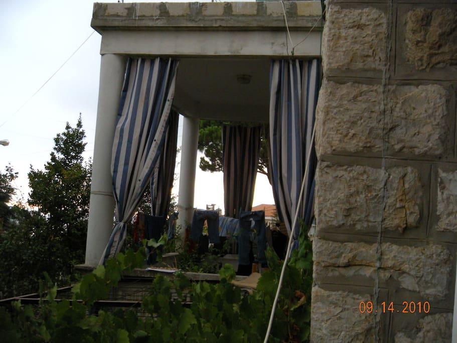 Veranda off the formal living room