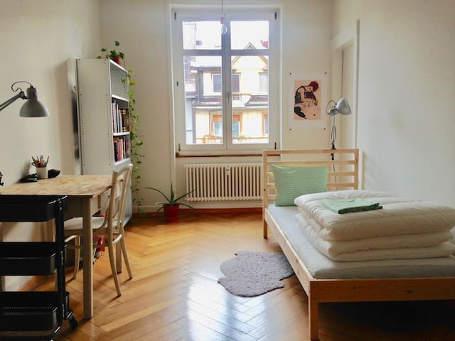 Cozy apartment in a nice district near the Rhine - Basel - Hus