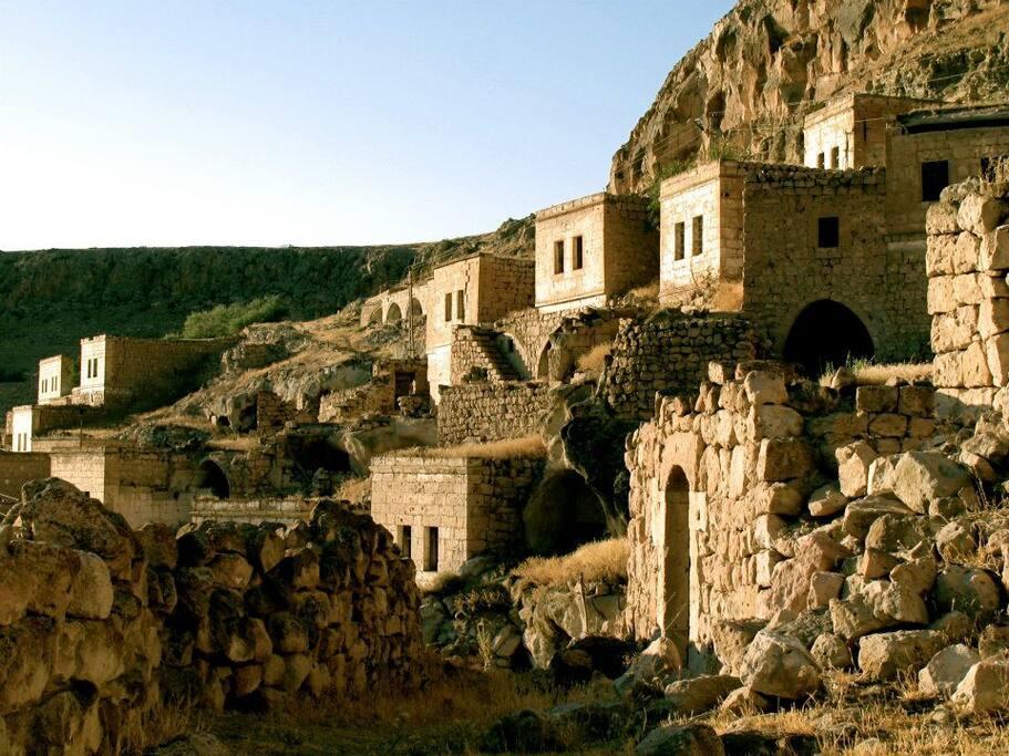 The village of Akkoy