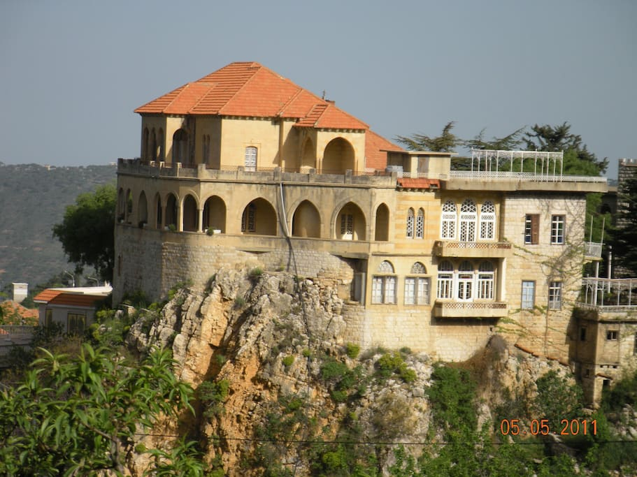 The LaMartine Castle - named for the famous French poet who came and stayed here in 1833.