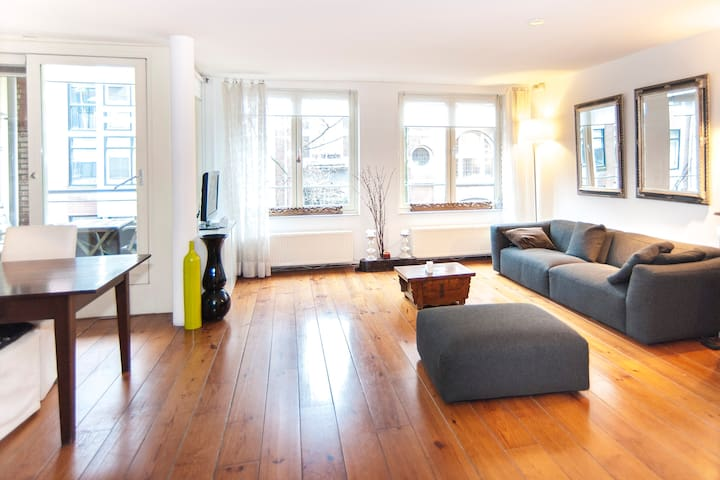 110M2 CHARMING FAMILY APT DOWNTOWN - Amsterdam - Pis