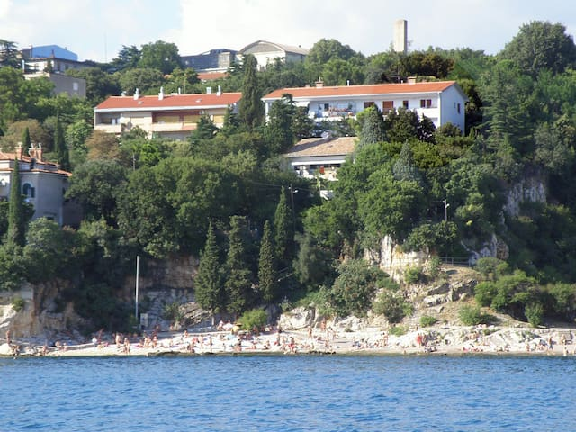 / BLUE ROOM / 50m from the beach - Rijeka - Flat