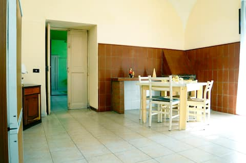 House on the hills 3km from Salerno - Living room