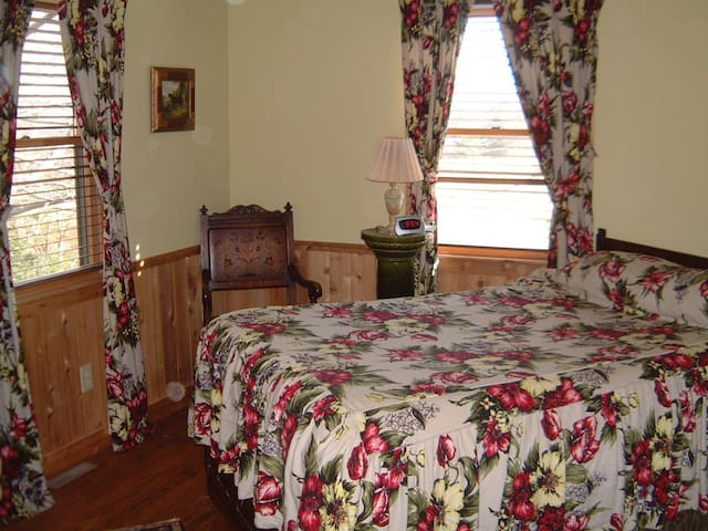 One of the beds