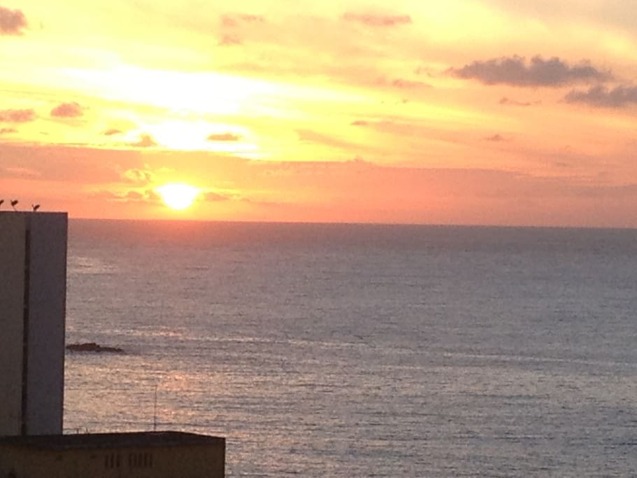 Watch the sunrise over the Atlantic