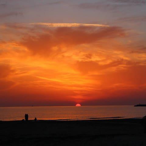 Meraviglia al tramonto - Gela, Sicilia, IT - Apartamento