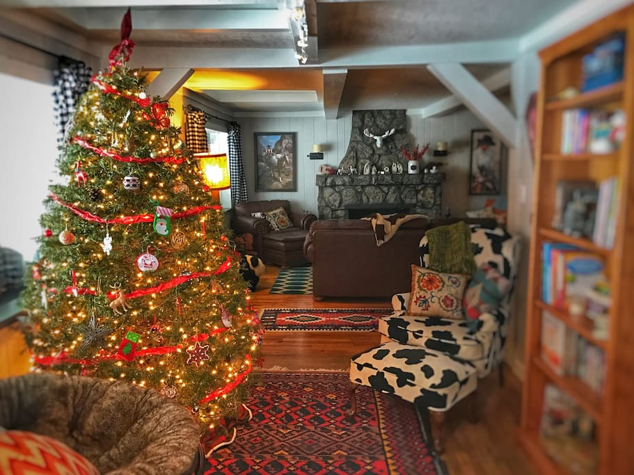 We will decorate for Christmas for your family