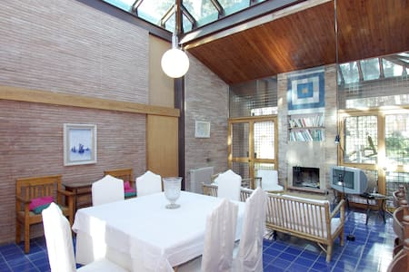 Fregene: villa with a glass roof  - Fregenae - Villa