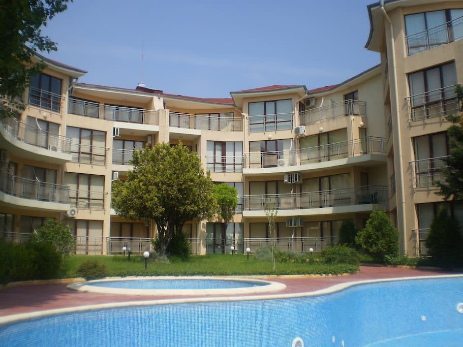 Akrotiria Apartment Complex, Sunny Beach