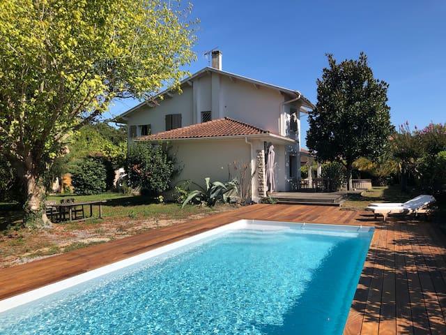 Très belle villa Soustons proche lac et plage