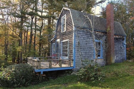 Historic cottage with ocean views - Harpswell - Rumah