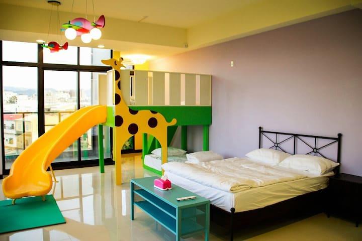 歡樂 動物園房 - 豐原區 - Bed & Breakfast