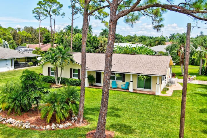 NEW! Home w/Florida Rm+Patio, 2Mi to Bonita Beach