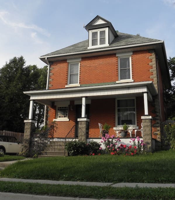 Our century home, just 2 blocks from downtown Stratford.