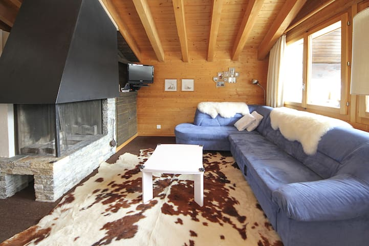 Chill in the heart of Swiss Alps - Grimentz - Apartment