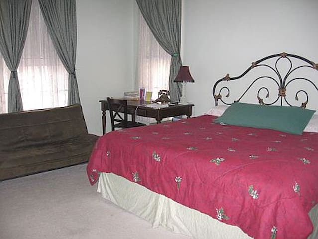 Carpenter Room @ Olde Judge Mansion - Troy - Bed & Breakfast