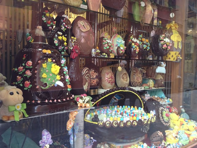 Easter Eggs at Seghezzo - Amazing!