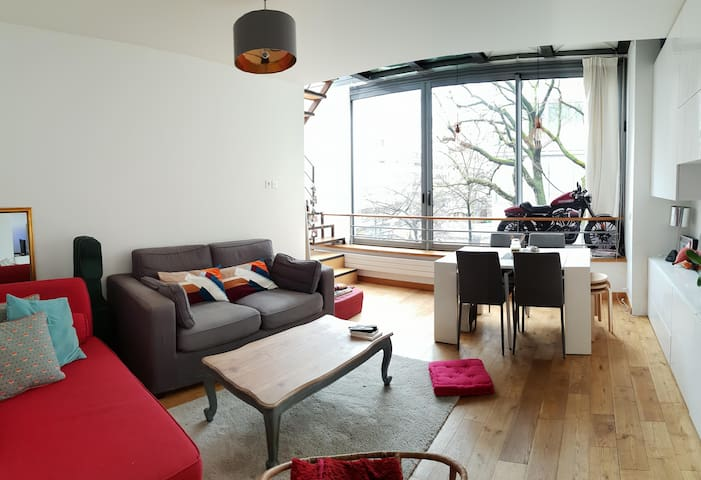 Spacious flat near Bercy Arena