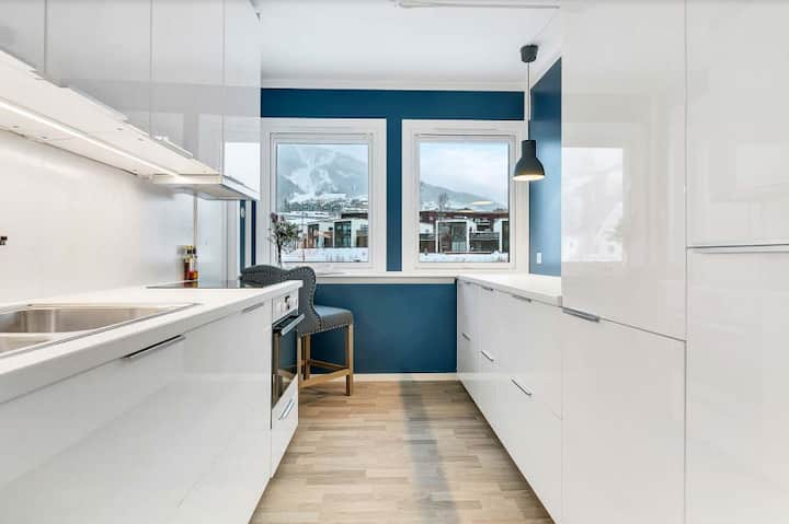 Romslig leilighet ved Narvikfjellet og sentrum