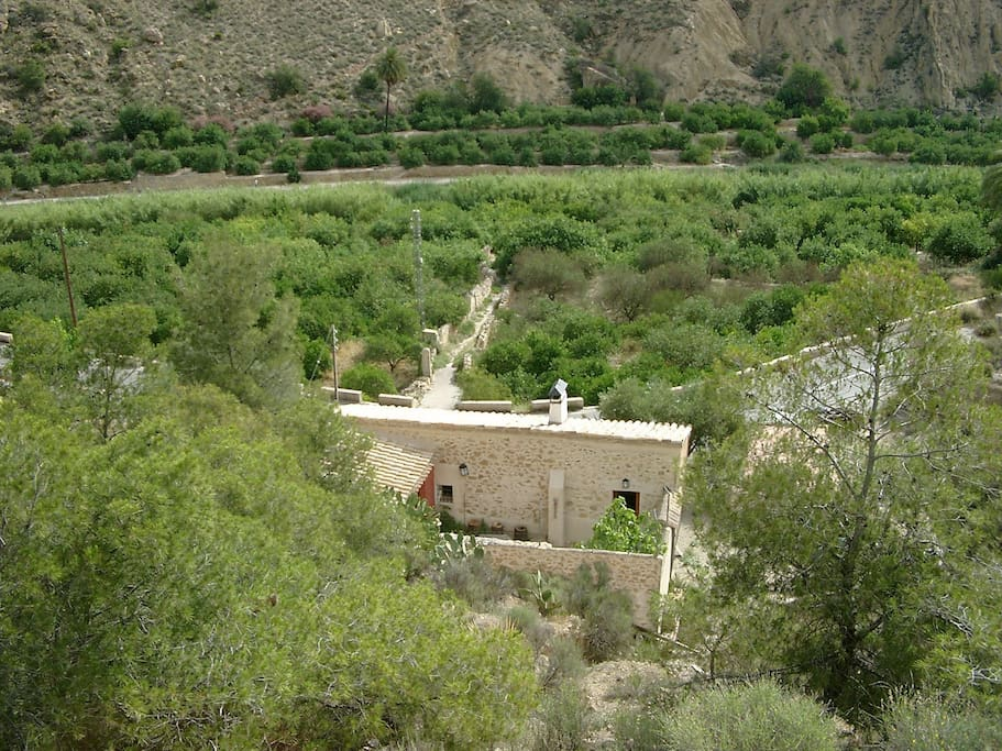 Astonishing surroundings and views at the heart of the Moorish Valley, ricote Valley