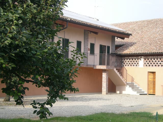 Agr.SoncinoPavese Airone Niticora - Binasco - Apartment