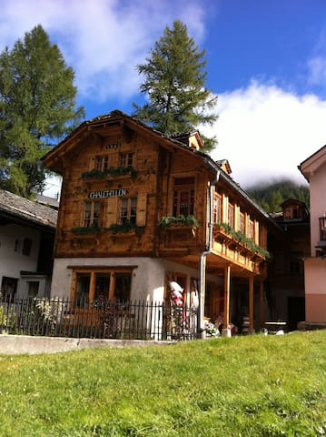 Swiss, Zinal - Charming old cottage - Ayer - Alpehytte