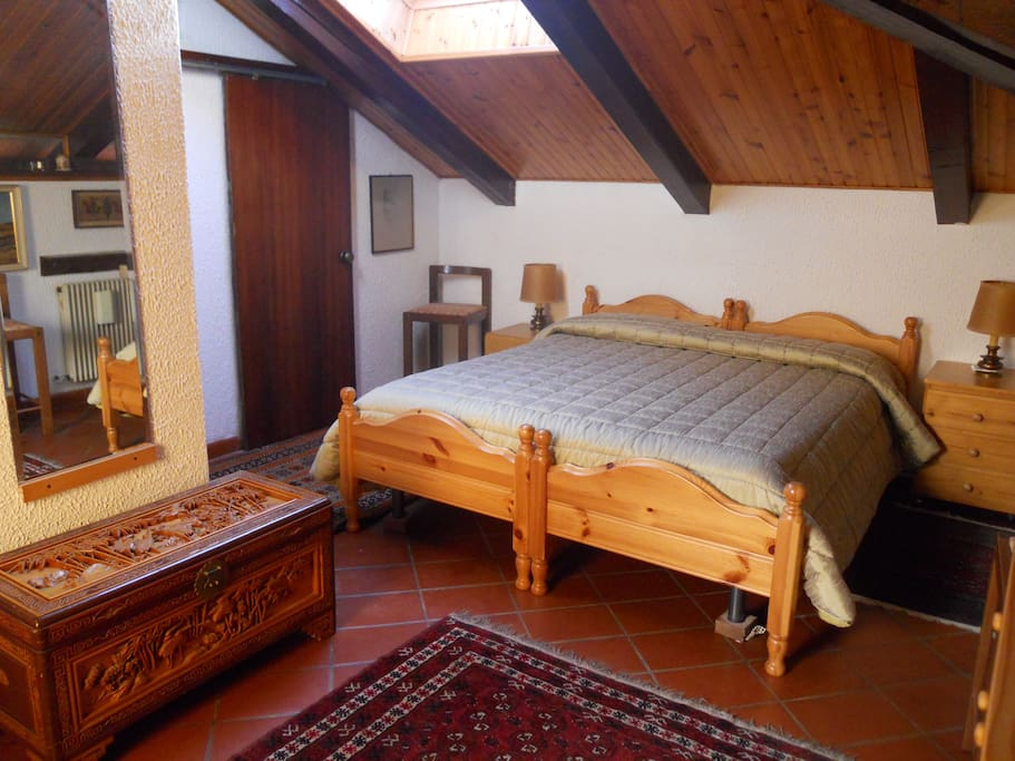 one double room