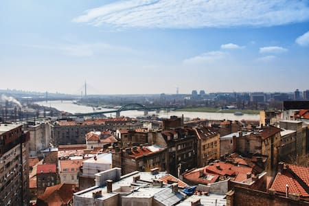 Amazing Penthouse view and parking  - Beograd