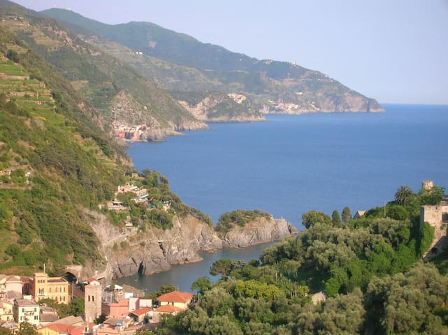 Cottage with amazing sea view 5T - Monterosso Al Mare - Chalet