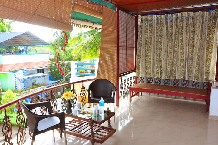 Rooftop Balcony and stay in Fort Kochi