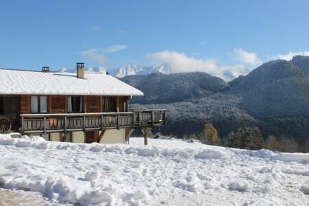 Le chalet à Mahé au milieu des Alpages - Montendry