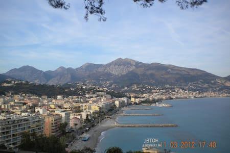 Splendido appartamento fronte mare - Roquebrune-Cap-Martin - Lägenhet