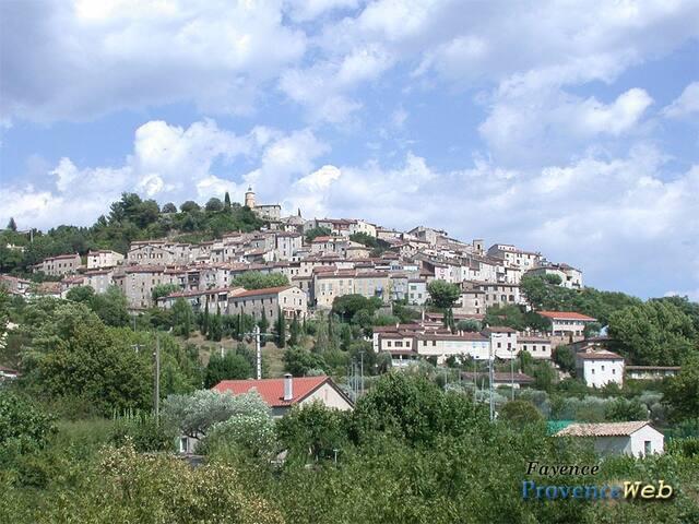 View of Fayence