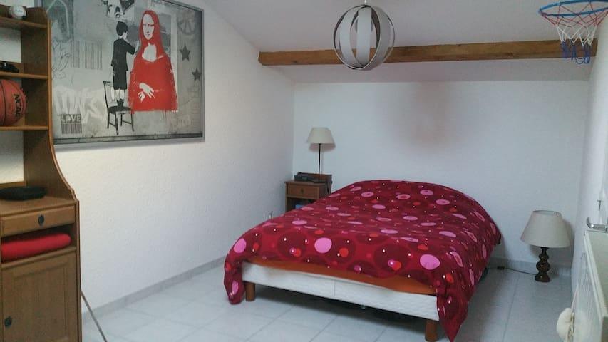 Chambre double - La Talaudière