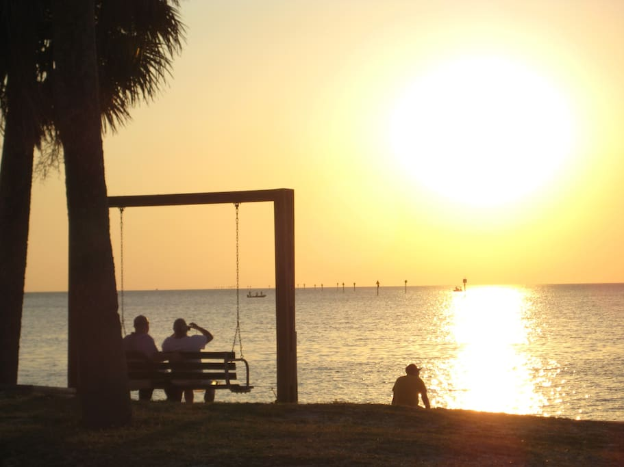 Hudson Beach Sunset