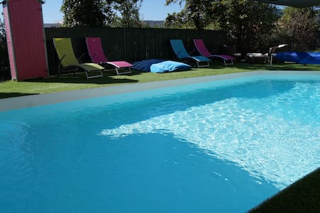 Rooms in nice House/swimming pool - Clermont-Ferrand - Bed & Breakfast
